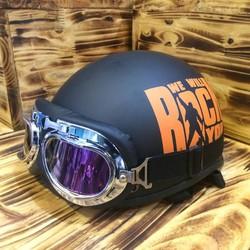nón bảo hiểm đi phượt có kính - 1535 shoptoy