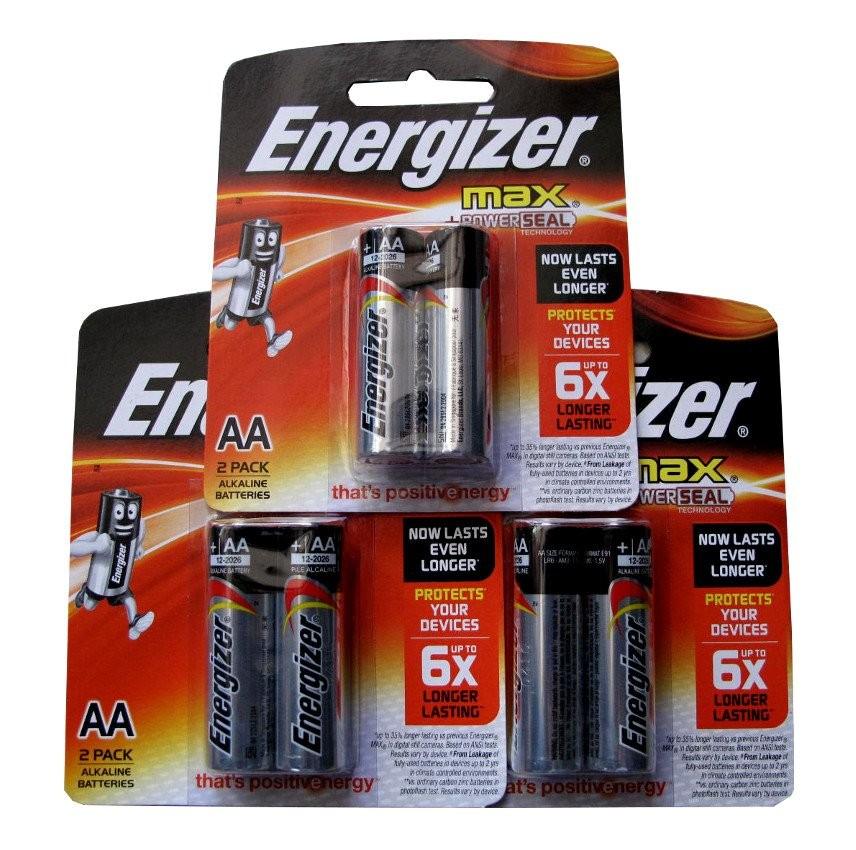 Pin Energizer cặp 2 viên 2A