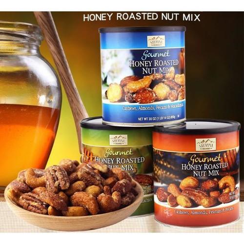 Hạt hỗn hợp tẩm mật ong gourmet honey roasted nut mix của savanna mỹ hộp 850gr - 20814610 , 23847938 , 15_23847938 , 600000 , Hat-hon-hop-tam-mat-ong-gourmet-honey-roasted-nut-mix-cua-savanna-my-hop-850gr-15_23847938 , sendo.vn , Hạt hỗn hợp tẩm mật ong gourmet honey roasted nut mix của savanna mỹ hộp 850gr