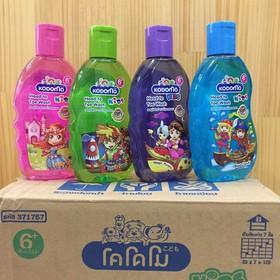 Dầu tắm gội Kodomo 200ml Thái Lan dành cho bé 6 tuổi trở lên - 8850002029132