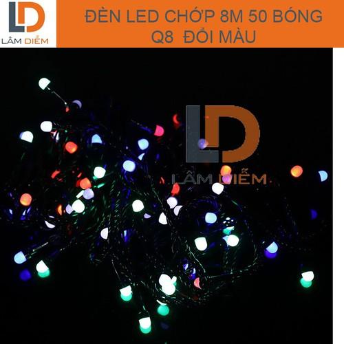 Đèn led dây chớp  dài 8m 50 bóng lớn q8 nhiều màu sắc - 20834499 , 23879127 , 15_23879127 , 59000 , Den-led-day-chop-dai-8m-50-bong-lon-q8-nhieu-mau-sac-15_23879127 , sendo.vn , Đèn led dây chớp  dài 8m 50 bóng lớn q8 nhiều màu sắc