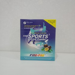 Combo 5 hộp Sports drink powder hộp 5 gói