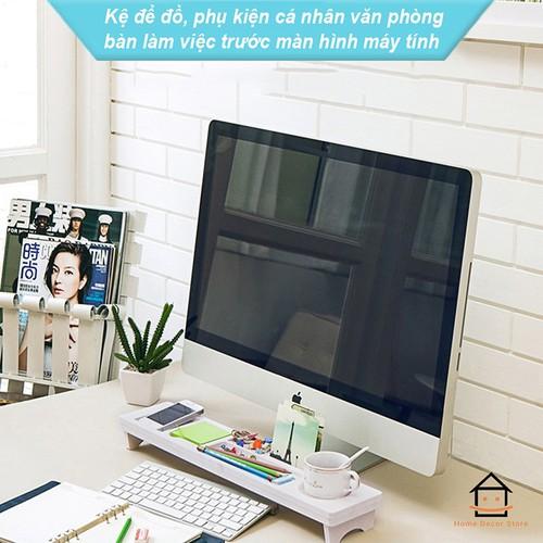 Kệ gỗ để đồ, phụ kiện cá nhân văn phòng bàn làm việc trước màn hình máy tính giá rẻ - 20827349 , 23867682 , 15_23867682 , 200000 , Ke-go-de-do-phu-kien-ca-nhan-van-phong-ban-lam-viec-truoc-man-hinh-may-tinh-gia-re-15_23867682 , sendo.vn , Kệ gỗ để đồ, phụ kiện cá nhân văn phòng bàn làm việc trước màn hình máy tính giá rẻ