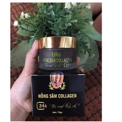 Mặt Nạ Hồng Sâm Collagen