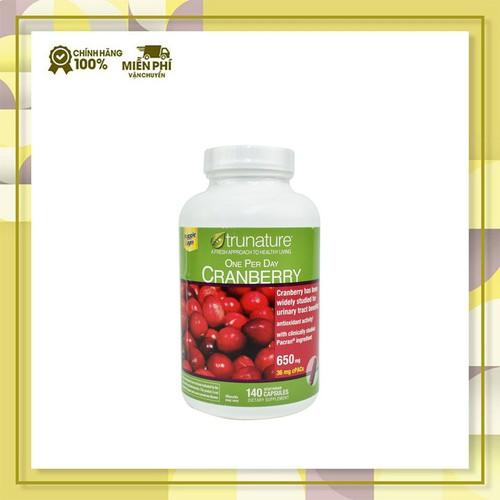 Viên uống trunature cranberry hỗ trợ đường tiết niệu|vien uong trunate cranberry xuất xứ mỹ 140 viên - 20819778 , 23855937 , 15_23855937 , 720000 , Vien-uong-trunature-cranberry-ho-tro-duong-tiet-nieuvien-uong-trunate-cranberry-xuat-xu-my-140-vien-15_23855937 , sendo.vn , Viên uống trunature cranberry hỗ trợ đường tiết niệu|vien uong trunate cranberry