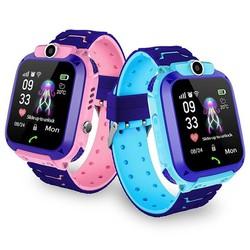 Đồng hồ thông minh định vị trẻ em Hitek A28, bản chống nước, tích hợp camera - Tặng vòng tay RUBY
