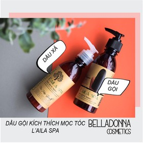 Dầu Xả Thảo Mộc Kích Thích Mọc Tóc Laila Spa Hair Grow Faster Conditioner 200ml - laila-xa