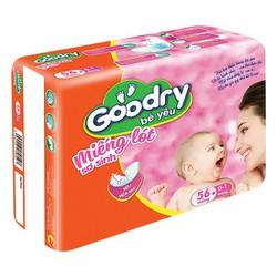 Lót sơ sinh Goodry bịch 56 miếng