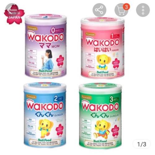 +Sale+  sữa bột wakodo nutifood so 1 2 300g date moi nhat