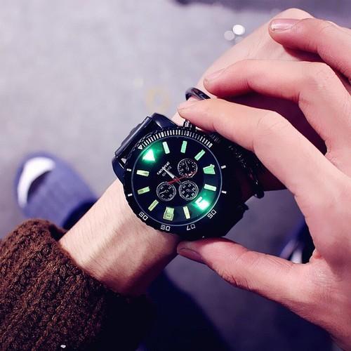 Đồng hồ nam phát sáng cá tính jis dh66