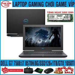Dell G7 7588 - Siêu Khủng Game core i7-8750H, RAM 8G, SSD 128G + HDD 1TB, card rời Nvidia GTX 1050TI, màn 15.6 FullHD IPS - Dell G7 7588
