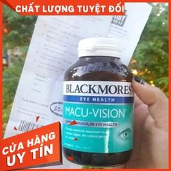 Bill Úc - Viên Uống Bổ Mắt Blackmores Eye Health Macu Vision 150 Viên - Bổ mắt Macu-Vision Blackmores