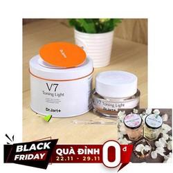 [QUÀ ĐỈNH 0Đ] KEM V7 Toning Light Dr Jart + Tặng Kèm 1 Hộp Nạ Yến Collagen