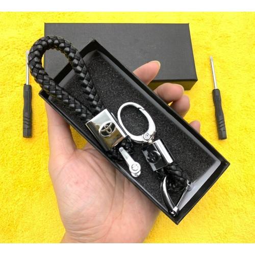 Bộ 2 móc chìa khóa dây da bện logo xe hơi hộp đen sang trọng thích hợp làm quà tặng đẳng cấp - 20847183 , 23897731 , 15_23897731 , 99000 , Bo-2-moc-chia-khoa-day-da-ben-logo-xe-hoi-hop-den-sang-trong-thich-hop-lam-qua-tang-dang-cap-15_23897731 , sendo.vn , Bộ 2 móc chìa khóa dây da bện logo xe hơi hộp đen sang trọng thích hợp làm quà tặng đẳng