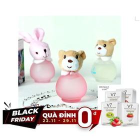 [QUÀ ĐỈNH 0Đ] Nước hoa beibei bear gấu thỏ 50ml + Tặng Kèm Gói Mặt Nạ V7 - NH0013T