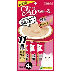 Thức ăn cho mèo Súp Thưởng Ciao Churu Tuna With Collagen 4 thanh