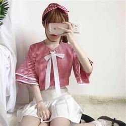 Áo kiểu nữ - ĐƯỢC KIỂM HÀNG - Bấm vào shop CHÍ VĨ xem thêm nhiều mẫu đẹp - Vào phần mô tả sản phẩm để xem cách mua nhiều sản phẩm nhé