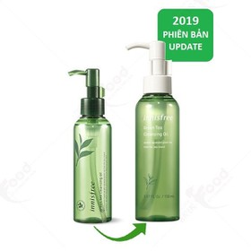 Dầu Tẩy Trang Innisfree. Green Tea Cleansing Oil 150ml - InnisfreeTea