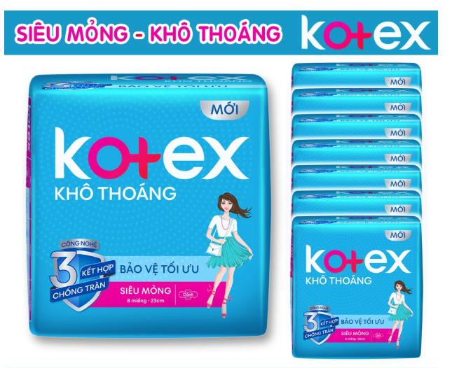 Băng vệ sinh maxi cánh KOTEX Style 20 miếng