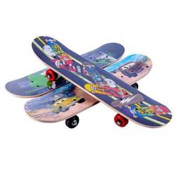 Ván trượt hình siêu nhân dài skateboard 43cm