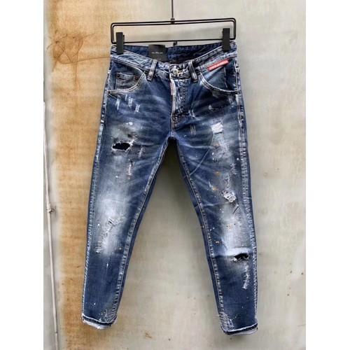 Jeans vẩy sơn