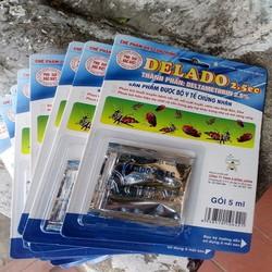 Thuốc diệt bọ chét trên chó mèo DELADO 2.5SC 5ml