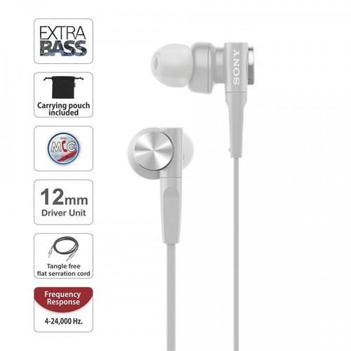 Tai nghe sony mdr-xb55ap - có mic-công nghệ extra bass - chính hãng