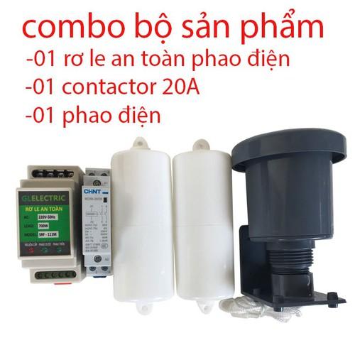 Combo bộ sản phẩm rơ le an toàn phao điện - 20861395 , 23918627 , 15_23918627 , 459000 , Combo-bo-san-pham-ro-le-an-toan-phao-dien-15_23918627 , sendo.vn , Combo bộ sản phẩm rơ le an toàn phao điện