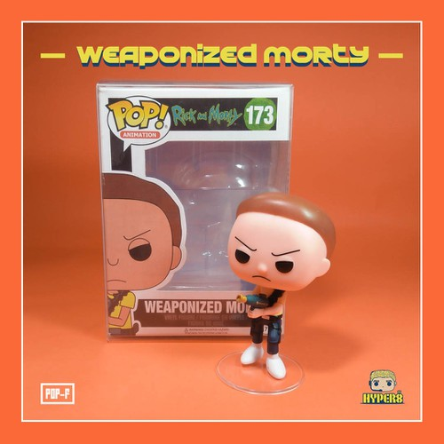 Mô hình funko pop weaponized rick & morty