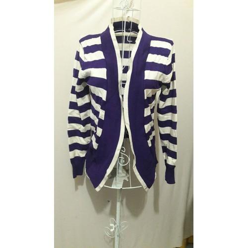 Áo khoát cardigan sọc