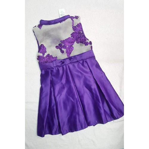 Váy đầm công chúa thêu hoa nổi 13_16kg