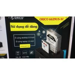 Dock gắn hai ổ cứng orico 6629