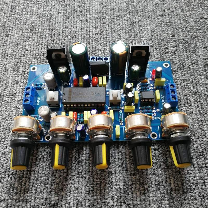 Mạch điều chỉnh âm sắc   Tone pre Hifi LM4610 + NE5532 Chính hãng