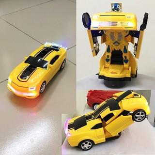 Đồ chơi robot ô tô biến hình cho trẻ thông minh - Đồ chơi robot thumbnail
