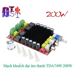 Mạch công suất TDA7498 class D 2x100w
