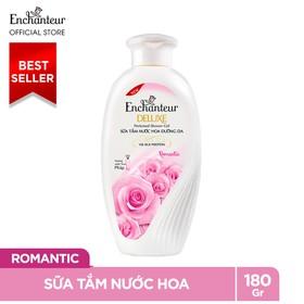 Sữa Tắm Nước Hoa Dưỡng Da Enchanteur Romantic Lãng Mạn Nhẹ Nhàng Mịn Màng Quyến Rũ 180gr - sua-tam-Enchanteur-Romantic-180