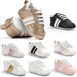 Giày tập đi cho bé 2 sọc - KTB33 thumbnail