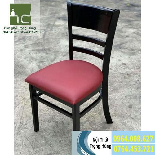 Ghế gỗ nệm cf