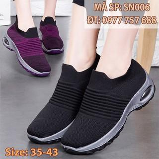 Giày thể thao form đẹp siêu bền siêu nhẹ cho mẹ phụ nữ trunng niên size 40 41 u40 u50 SN006 - SN006 thumbnail