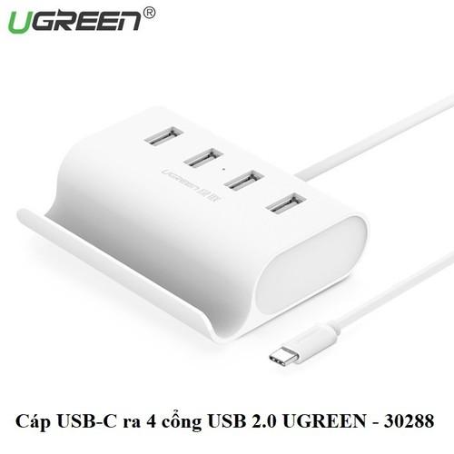 Cáp usb type c ra 4 cổng usb 2.0 chính hãng ugreen 30288 - 19621778 , 23961251 , 15_23961251 , 190000 , Cap-usb-type-c-ra-4-cong-usb-2.0-chinh-hang-ugreen-30288-15_23961251 , sendo.vn , Cáp usb type c ra 4 cổng usb 2.0 chính hãng ugreen 30288