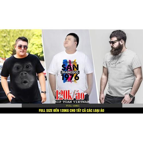 Áo thun thời trang cho nam in 3d áo thun nam bigsize dành cho người béo - 20890451 , 23957166 , 15_23957166 , 120000 , Ao-thun-thoi-trang-cho-nam-in-3d-ao-thun-nam-bigsize-danh-cho-nguoi-beo-15_23957166 , sendo.vn , Áo thun thời trang cho nam in 3d áo thun nam bigsize dành cho người béo