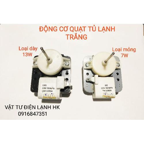 Động cơ quạt tủ lạnh trắng đa năng mỏng 7w - dày 13w motor ngăn đá - 20895933 , 23966658 , 15_23966658 , 74000 , Dong-co-quat-tu-lanh-trang-da-nang-mong-7w-day-13w-motor-ngan-da-15_23966658 , sendo.vn , Động cơ quạt tủ lạnh trắng đa năng mỏng 7w - dày 13w motor ngăn đá