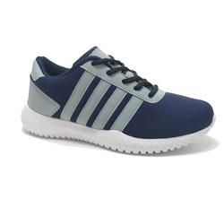 Giày thể thao nam màu xanh đậm và đen