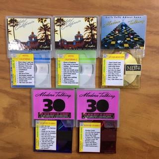 Bộ 5 Đĩa MD Mini Disc nhạc Quốc Tế - HOTEL CALIFORNIA - MODERN TALKING [ĐƯỢC KIỂM HÀNG] 23954767 - 23954767 thumbnail