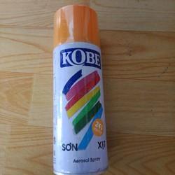sơn xịt Kobe màu vàng 241