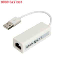 Cáp chuyển USB ra LAN RJ45 - Kết nối mạng cho các máy tính hỏng cổng mạng lan