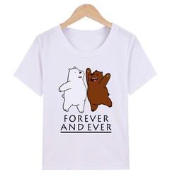 [Được Xem Hàng- Hài Lòng Mới Thanh Toán] Áo Thun Nam Nữ unisex  Forever And Ever M1376 chất liệu Polly Cotton sản phẩm gian hàng Pumbaa