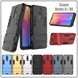 Ốp lưng XM Redmi 8 - 8A iRON - MAN Nhựa PC cứng viền dẻo chống sốc