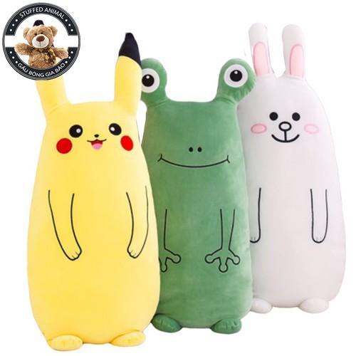 Gối ôm hoạt hình thú bông 3d ếch - pikachu - cony size 60cm vải mềm co giãn 4 chiều hàng nhập cao cấp - 20943303 , 24028081 , 15_24028081 , 155000 , Goi-om-hoat-hinh-thu-bong-3d-ech-pikachu-cony-size-60cm-vai-mem-co-gian-4-chieu-hang-nhap-cao-cap-15_24028081 , sendo.vn , Gối ôm hoạt hình thú bông 3d ếch - pikachu - cony size 60cm vải mềm co giãn 4 chiề