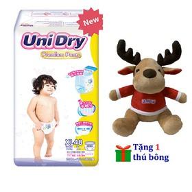[Tặng 1 thú bông tuần lộc] Tã quần Unidry Premium size M60 _size L54 _size XL48 - PR2